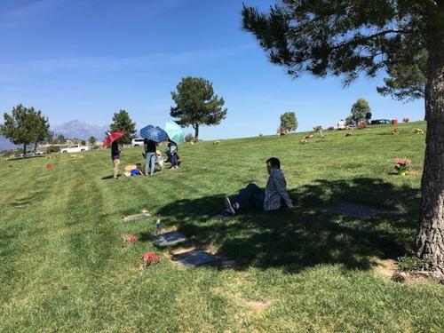 美媒:美国华人清明扫墓 祭奠方式不同缅怀的心意一致