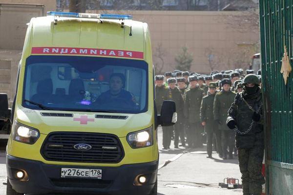 俄罗斯一军事学院发生爆炸 4名学员受伤