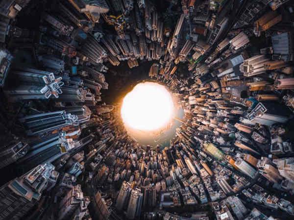 收壁纸:2018天空之城航拍大赛精选作品