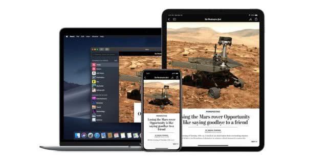 苹果Apple News+推出48小时内订阅人数超20万