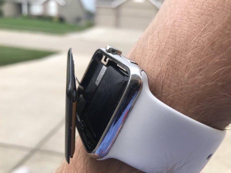 苹果全系Apple Watch电池被指出现鼓包问题