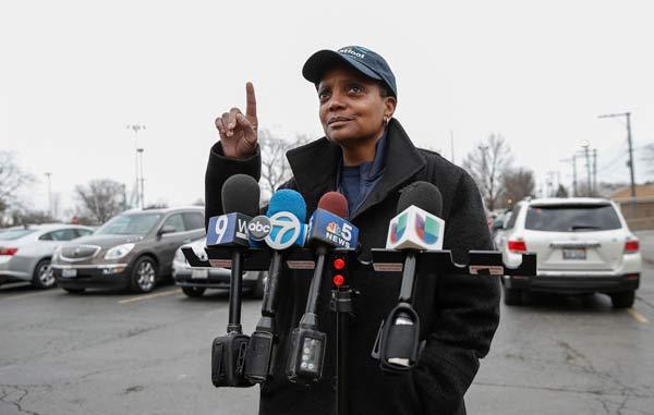 意义非凡!芝加哥诞生首位非裔女市长