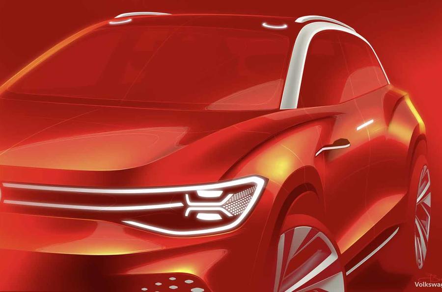 大众ID Roomzz电动SUV将亮相上海 主打中国市场