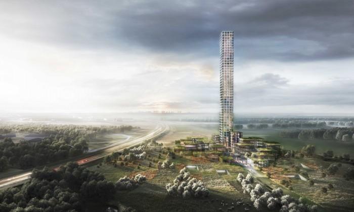 丹麦一小镇将建设欧洲最高的摩天大楼