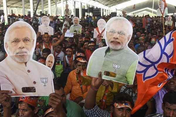 印度大选将于4月11日举行 莫迪出席竞选集会