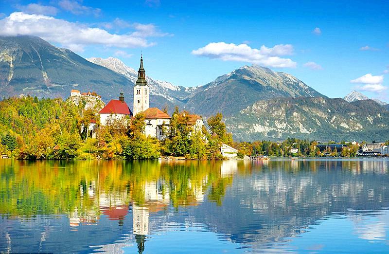 图集 | 阿尔卑斯的眼泪:斯洛文尼�w亚・布莱德湖