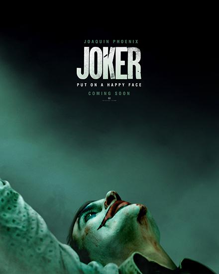 《小丑》邪魅登场 重磅发布全球首款预告海报
