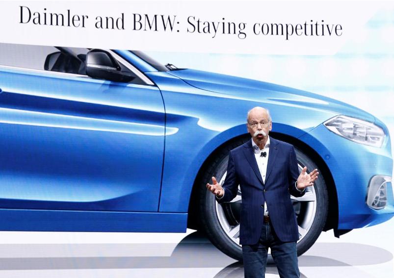 戴姆勒宝马或在华联合生产经济型电动车