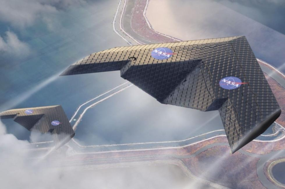 MIT和NASA联合研发可变形机翼:应用超材料技术