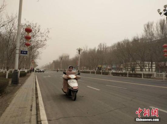 北方部分地区有沙尘 内蒙古黑龙江等地有较强降雪
