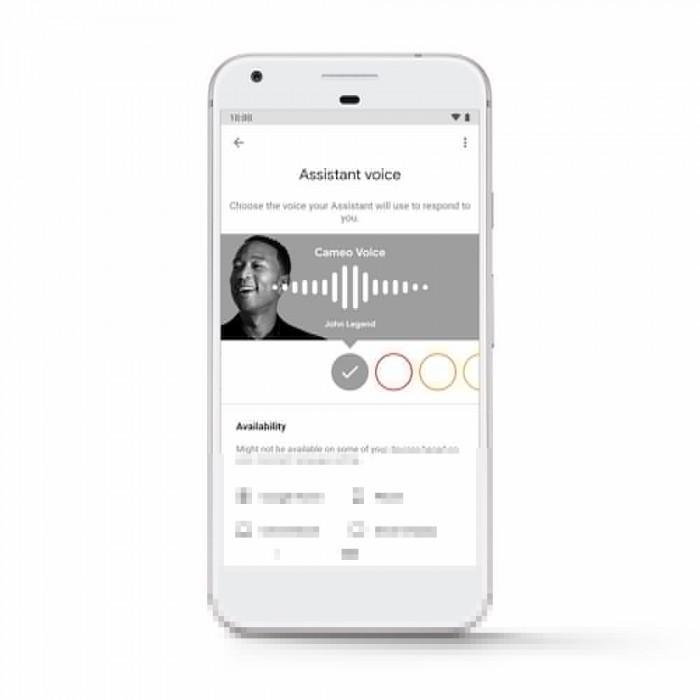 美国歌手约翰·传奇以声音客串Google智能助理