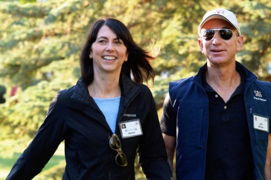 亚马逊CEO贝佐斯离婚:前妻放弃75%共同股份,仍为世界第四女富豪