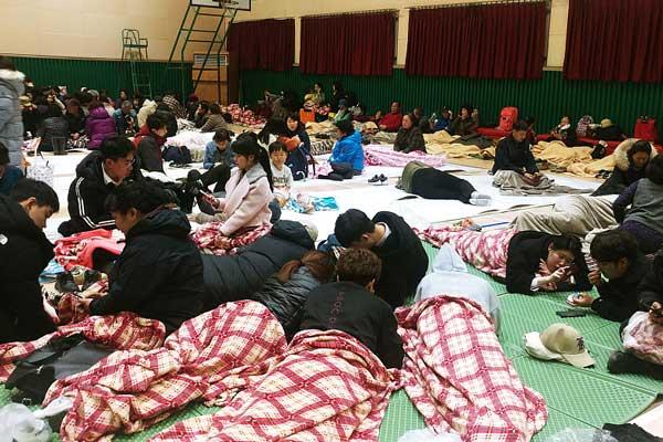 韩国发生严重森林大火 逾4000人疏散避难