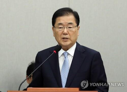 韩国国安首长:青瓦台正在考虑向朝鲜派遣特使