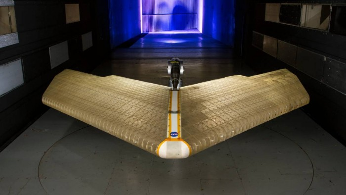 NASA令人难以置信的智能机翼可以在飞行时变形