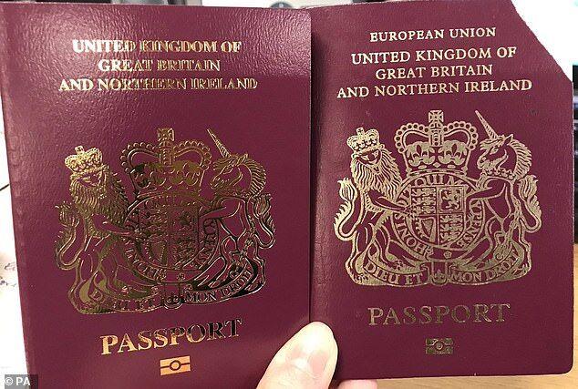 """英国还没""""脱欧"""" 英国护照先""""脱""""了"""