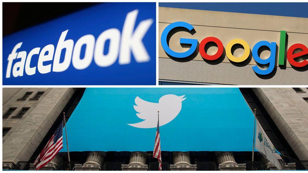 """社交媒体亲""""左""""?脸书、推特、谷歌将赴参院听证,应对指控"""