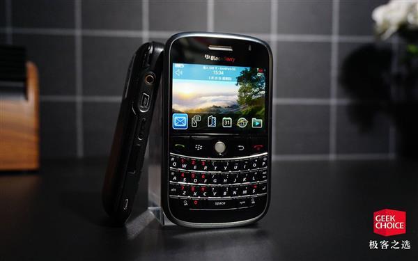 全键盘加轨迹球 这款黑莓让我爱上了打字聊天