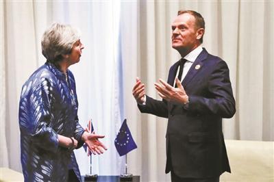"""欧盟或宽限英国一年""""脱欧"""" 给英国时间打破政治僵局"""