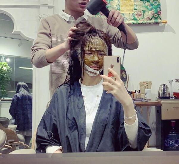 天雷滚滚!沈梦辰敷面膜洗头,粉丝:洗发店最靓的姐无疑了