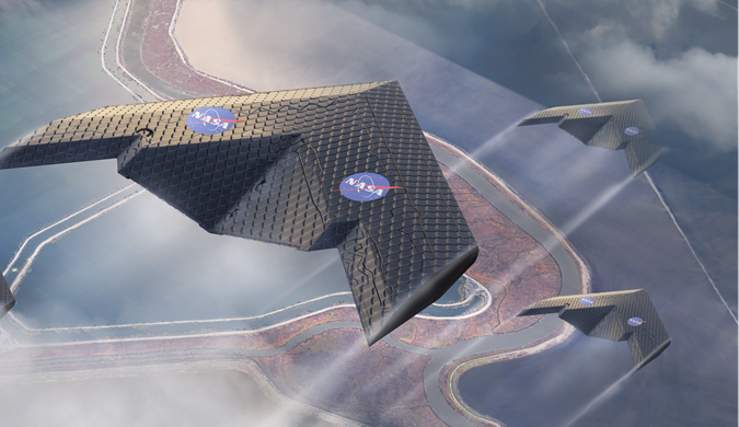 MIT和NASA联合研发可变形机翼 或改变未来飞行方式