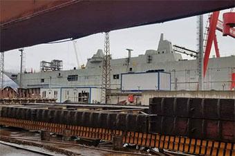 土耳其最大军舰完成建造 有望明年交付