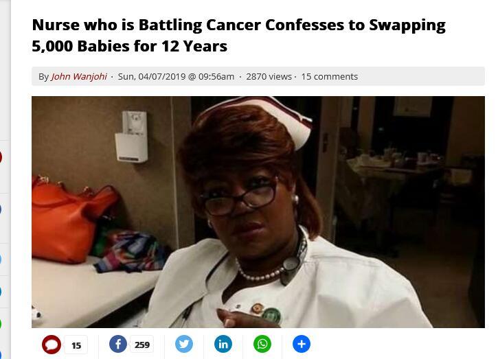 赞比亚护士调包5000婴儿?反转了