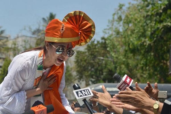 印度大选即将举行  宝莱坞影星之妹宣布参选