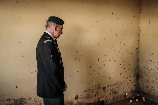 比利时首相米歇尔访问卢旺达  悼念大屠杀期间遇难维和人员