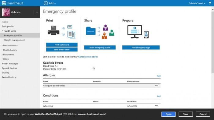 微软正在关闭其HealthVault患者记录服务