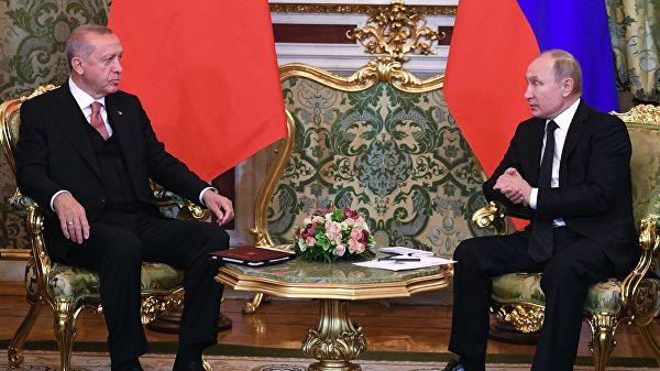 美施压土耳其放弃S-400,普京:俄罗斯还可向土提供新军事装备