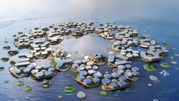 BIG建筑事务所计划打造一个1万人口的漂浮城市