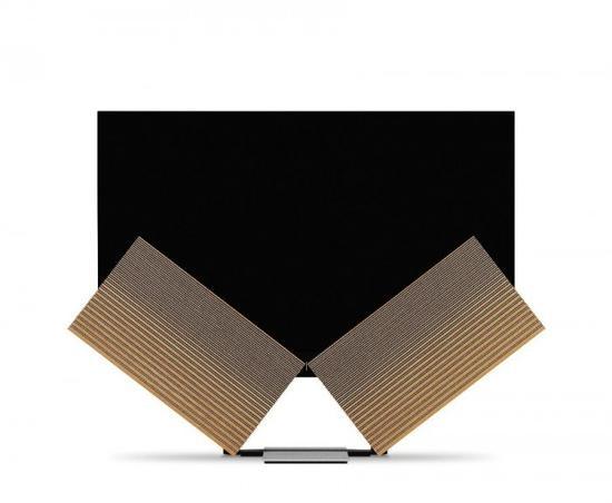 B&O推77吋电视 音箱可像蝴蝶翅膀一样展开