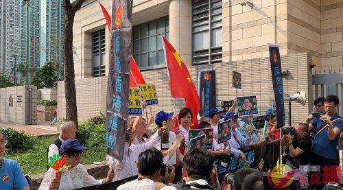"""香港非法""""占中""""案宣判,""""占中九丑""""全部有"""