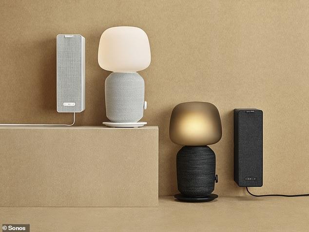 宜家和Sonos联手推出台灯和书架 可联网当音箱用