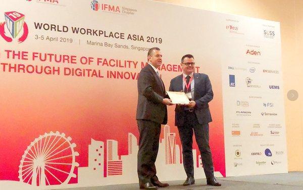 埃顿集团荣获IFMA颁发的荣誉奖项