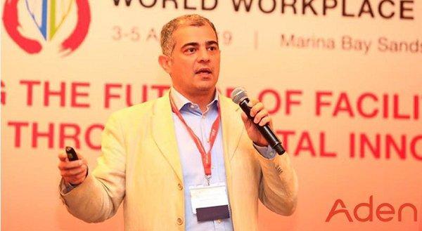 埃顿子公司埃顿能源总经理, Fulvio Bartolucci, 发表 《物联网与大数据,如何创造智能+》的主旨演讲