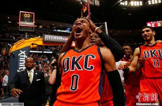 NBA上周东西部最佳球员:沃克、威斯布鲁克当选