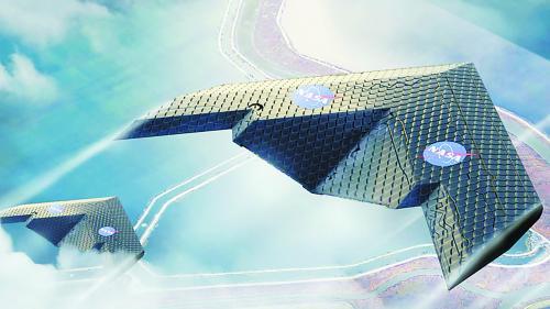"""未来飞机,机翼或随时""""变形"""""""