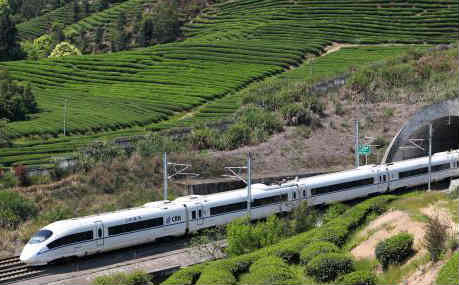 中国铁路4月10日起将实行新列车运行图