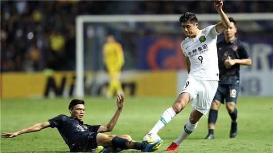 亚冠小组赛:武里南1-3国安