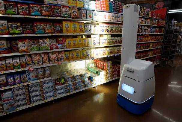 机器时代:沃尔玛将启用更多机器人代替简易工作