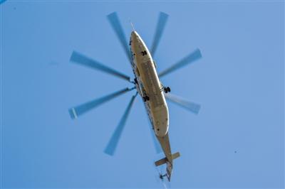 米-26T2V直升机完成初步试飞