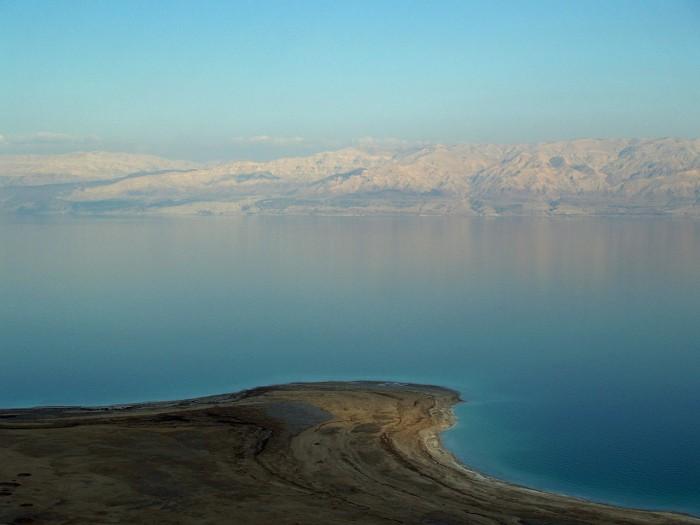 看似平静的死海 竟然有以尸体为食的神秘生物