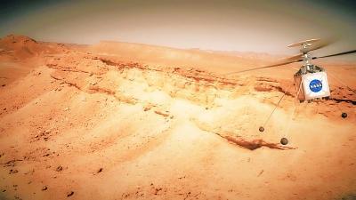 探测火星为何要用直升机?
