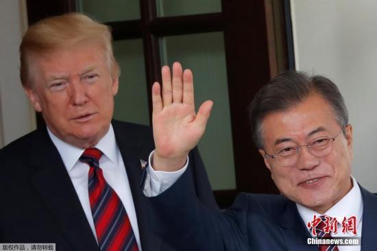 韩国总统文在寅将出访美国 出席韩美首脑会谈