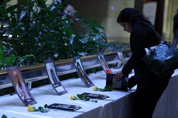 埃航客机失事一个月 联合国举行仪式悼念遇难工作人员