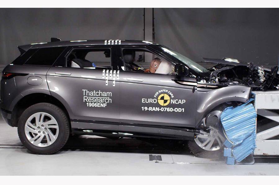路虎揽胜极光SUV获NCAP最高安全评级
