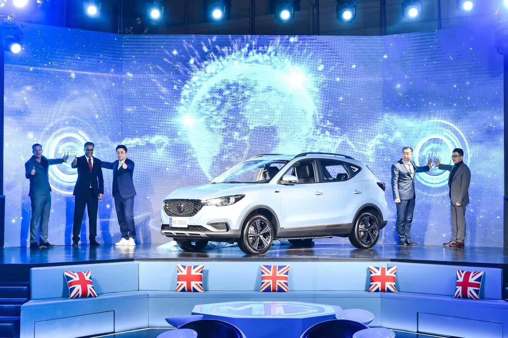 上汽名爵发布纯电动SUV--名爵 EZS 瞄准全球市场