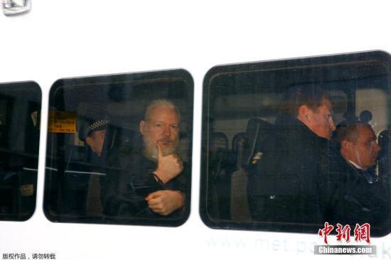阿桑奇被捕与美要求引渡有关 瑞典无意重审相关案件